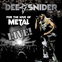 "Ο δίσκος των Dee Snider ""For the Love of Metal Live"""