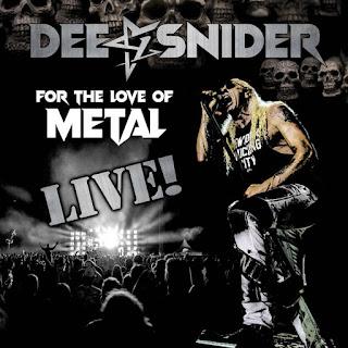 """Ο δίσκος των Dee Snider """"For the Love of Metal Live"""""""