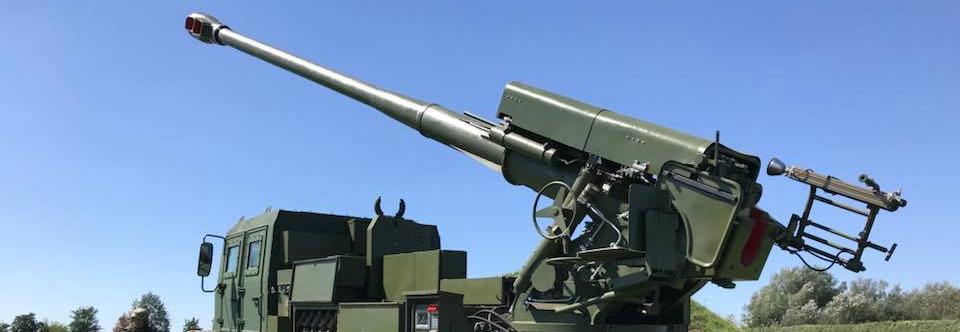 Нова українська 155-мм самохідна артсистема стріляє на полігоні
