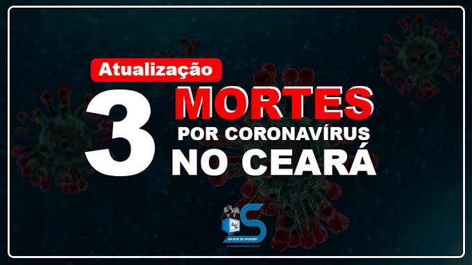 Atualizado: Sobe para três mortes por coronavírus confirmadas no Ceará pela Secretaria de Saúde