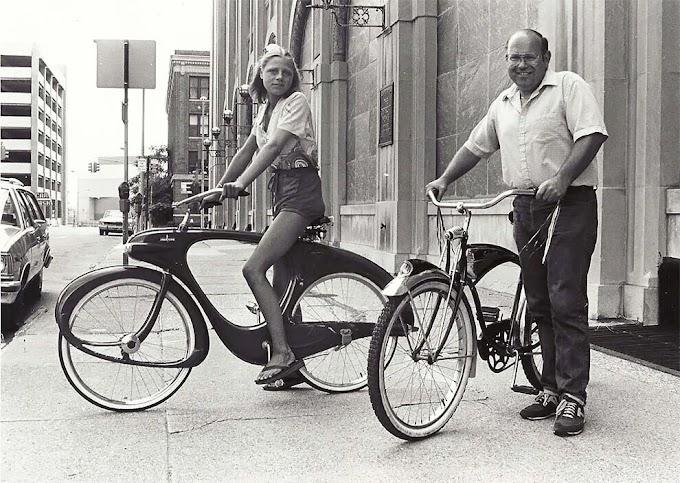 Geleceğin bisikleti 'Spacelander' olarak adlandırılmış ve 1946'da yapılmıştı.