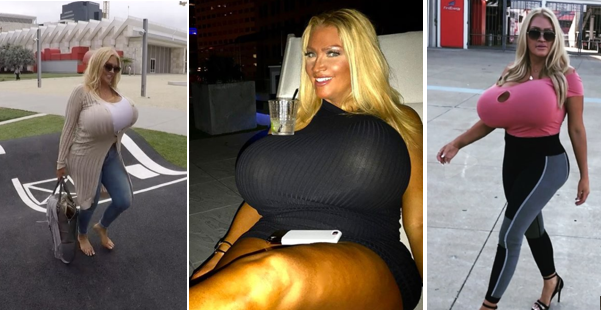 Watch this Hollywood Model getting famous because of her Big size B***S !