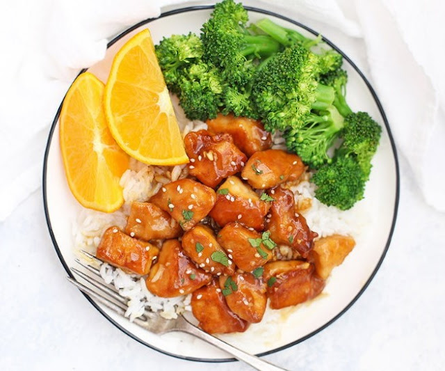 Healthy Orange Chicken #lowcarb #keto