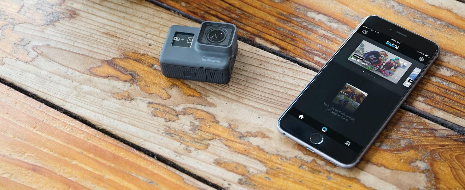 GoPro Hero со смартфоном