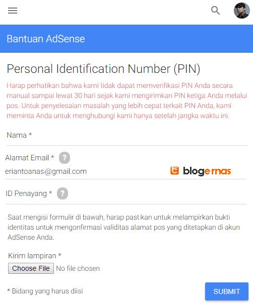 Berapa Lama Saya Menerima PIN Google Adsense?