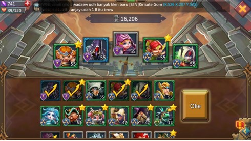 Susunan Hero Terkuat di Colosseum Lords Mobile