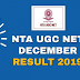 NTA - UGC-NET December, 2019: Result Out