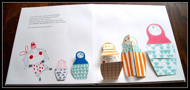 """poupées russes dans """"Ma boîte à petits bonheurs"""" de Jo Witek et Christine Roussey"""