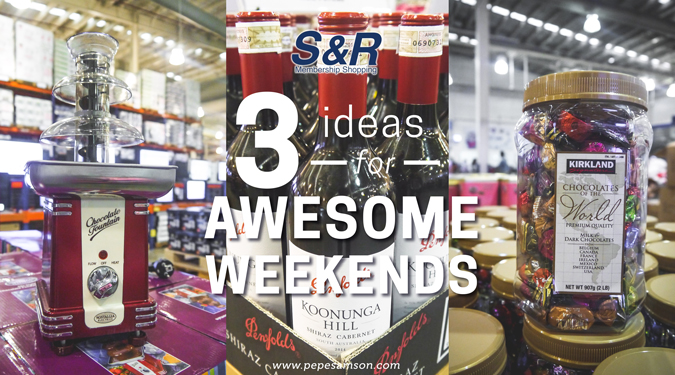 Lonely No More: 3 Ideas for Awesome Weekends from S&R #loveSnR