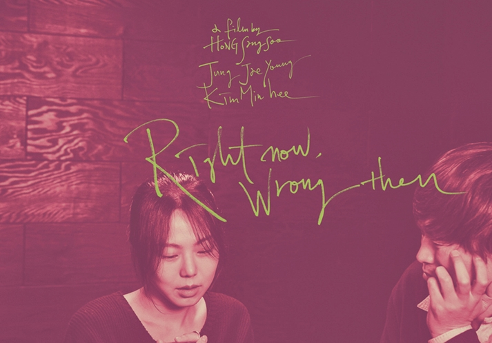 Póster: Right now, wrong then