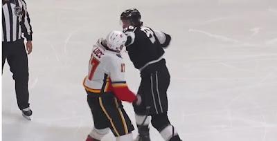 Hockey Fight Milan Lucic Kurtis MacDermid