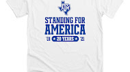 Standing For America T Shirt