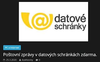 http://azanoviny.wz.cz/2020/03/25/postovni-zpravy-v-datovych-schrankach-zdarma/