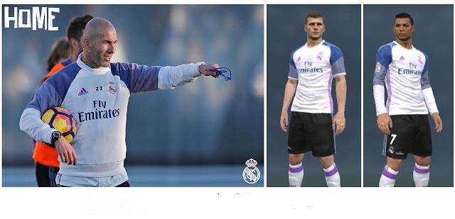 PES 2017   PES 2016 Real Madrid Fantasy Kits-Pack V.2 52e4f91a4