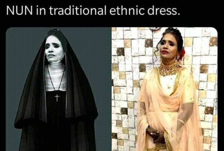 Ranu Mondal Makeup Funny Memes Viral On Social Media