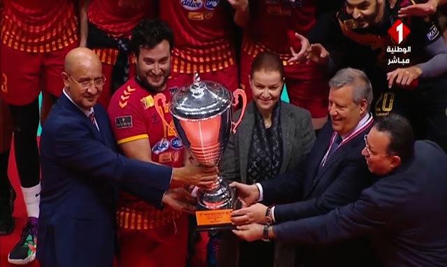 "Volley-ball: L'ESTUNIS ""TARAJI"" remporte la Coupe de Tunisie"
