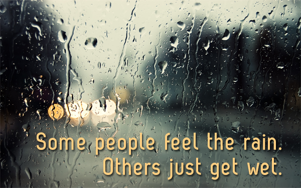 Rain Wallpaper With Quotes