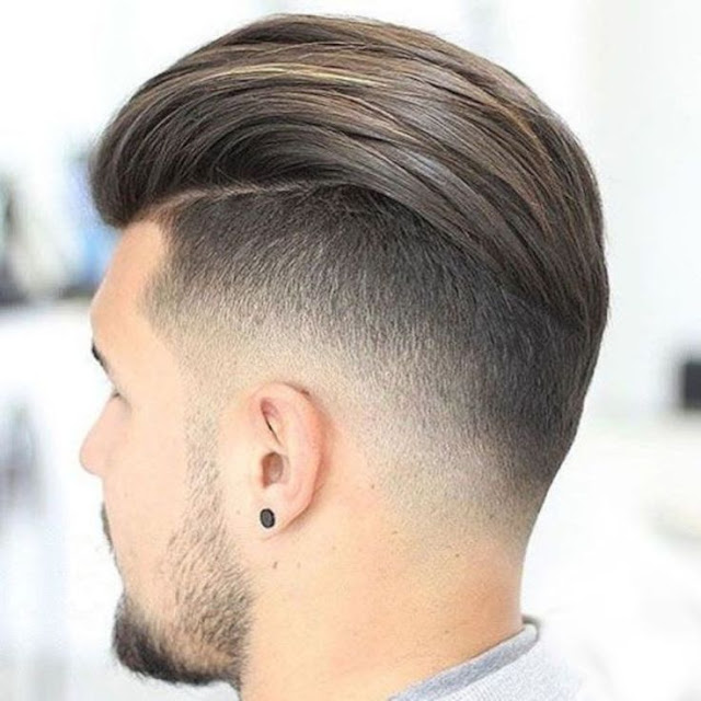 Slicked-Back Undercut