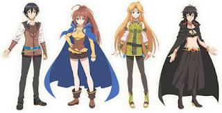 Taichi, Rin, Myura e Remia