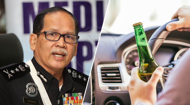 'Denda sekarang terlalu rendah, RM300' - PDRM cadang pemandu mabuk didenda RM5,000