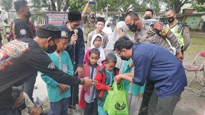 Sadudulur Vespa Jawa Barat Santuni Yatim Piatu Pondok Pesantren Nurul Musthofa An-Nuroniyah
