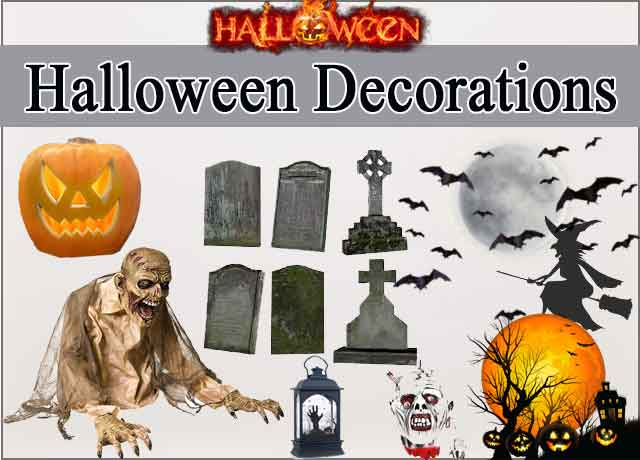 2019 Halloween Decorations – Spooky and Frightful Complete