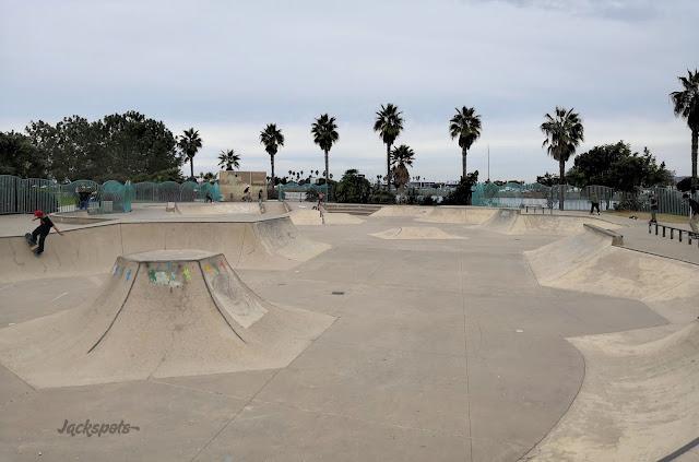 Skatepark San Diego Robb Field