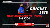 Live Cricket Ind vs Nz 1st ODI Hamilton । 05 February 2020