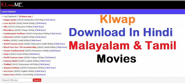 Klwap - Download Malayalam movies