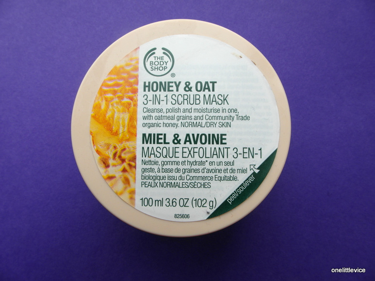 packaging face mask body shop natural