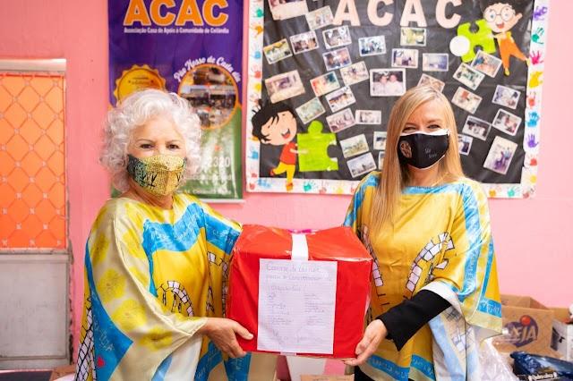 A Campanha Uma Caixa de Amor leva carinho e celebra o aniversário de Brasília com solidariedade