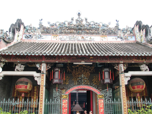 The Thien Hau Temple Ho Chi Minh Vietnam