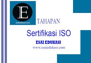 Tahapan dalam ISO
