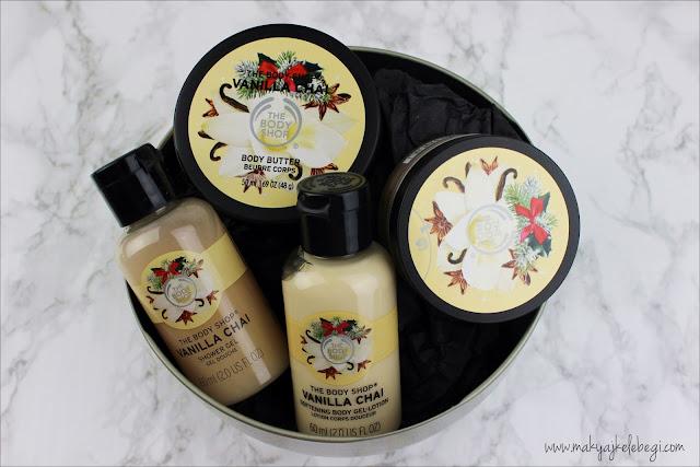 The Body Shop Vanilla Chai Serisi