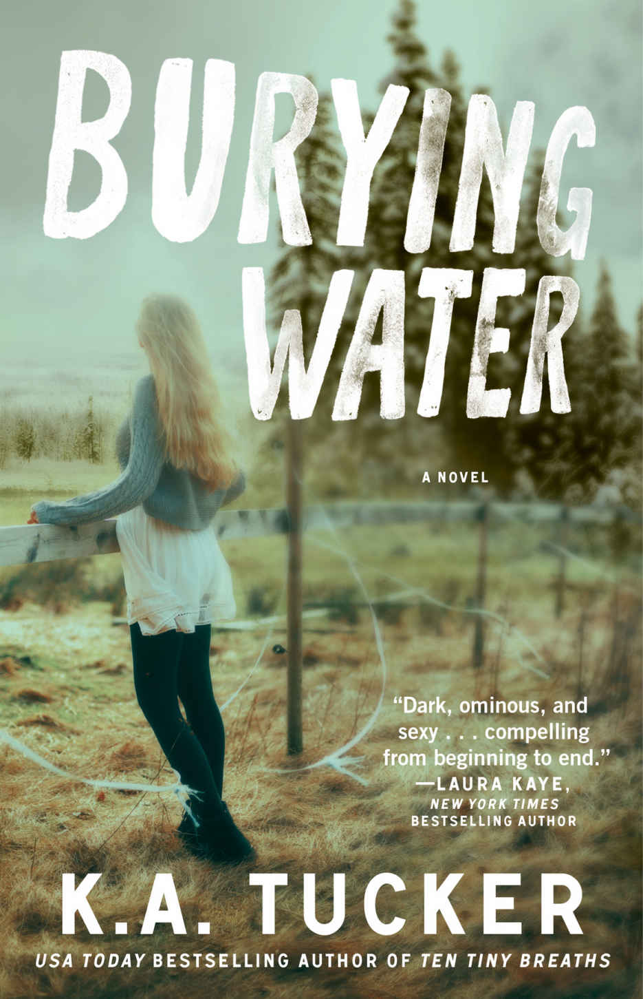 Burying Water K.A. Tucker Cover