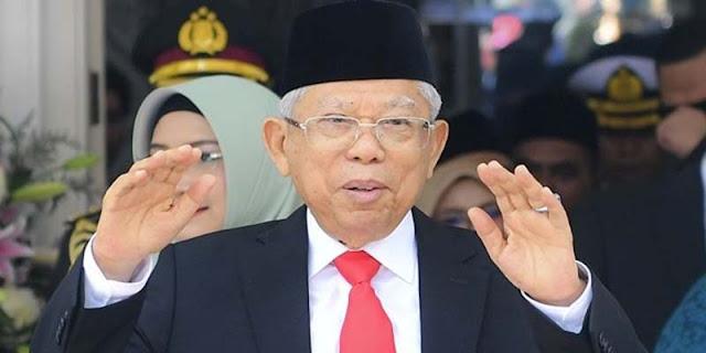 Maruf Amin Jadi 'Ban Serep' Jokowi Karena Tidak Ada Aturan Tegas Soal Kewenangan Wapres