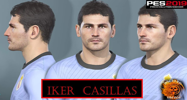 Iker Casillas Face PES 2019-2020 by MictlanTheGod