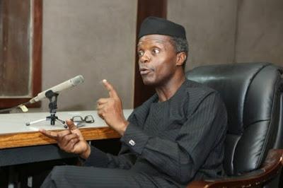 Vice President Yemi Osinbajo on Biafra