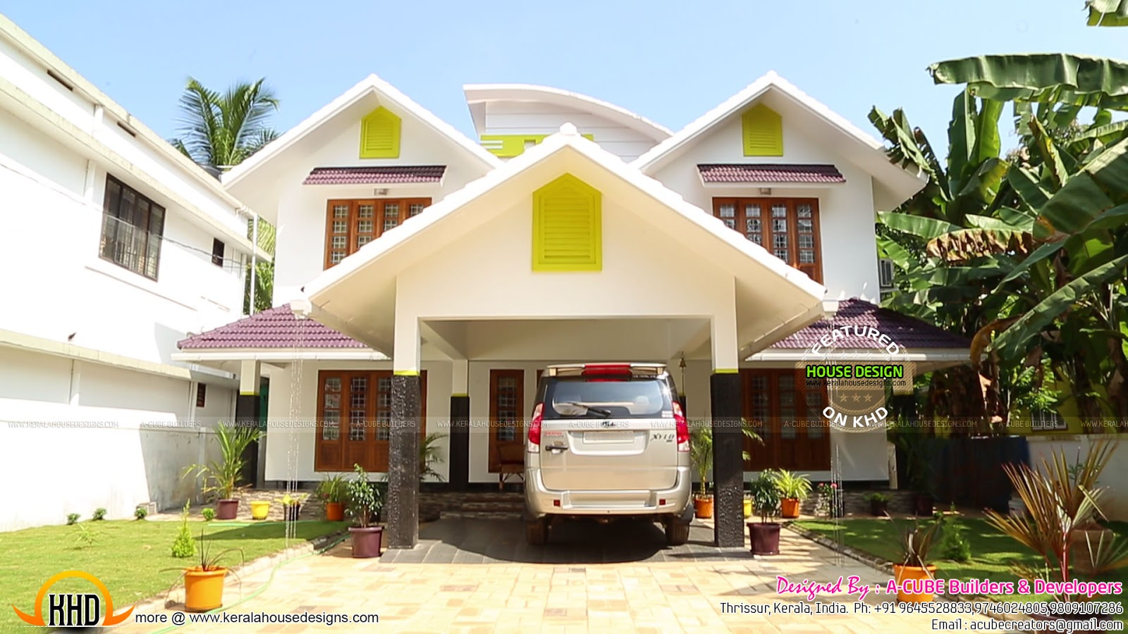 House Completed With Interior Design Photographs Kerala