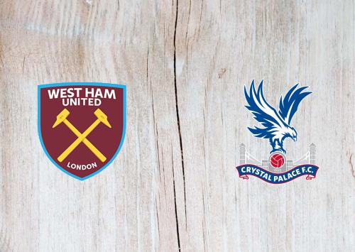 West Ham United vs Crystal Palace -Highlights 16 December 2020