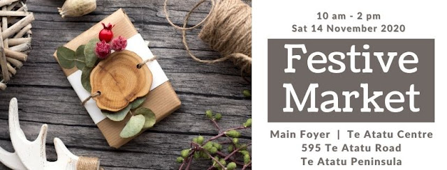 Christmas Market - Buy Local, Buy NZ Made - Te Atatu Saturday Craft Market, 595 Te Atatu Road, Te Atatu Peninsula