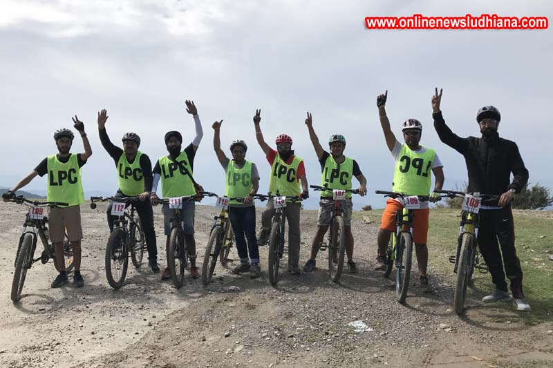 Ludhiana Pedallers Club during Mountain Adventure