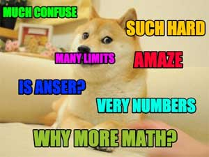 Much math. Very confuse.