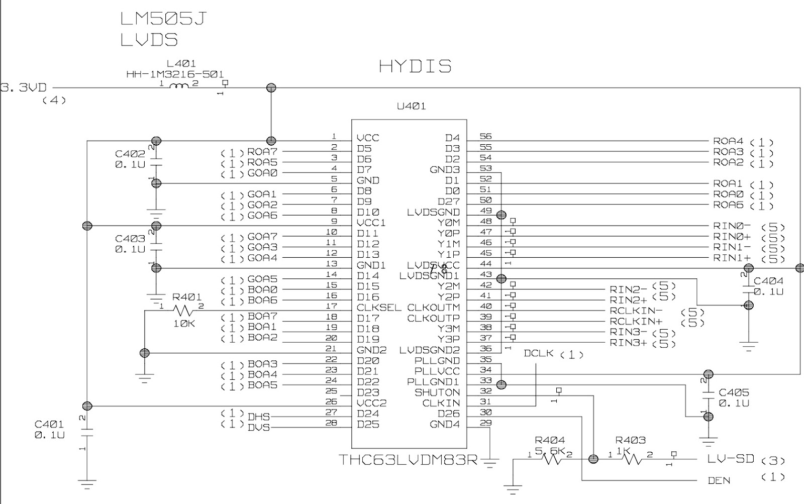 Electro Help  Flatron L1510m Lg Lcd Monitor Circuit Diagram Schematic