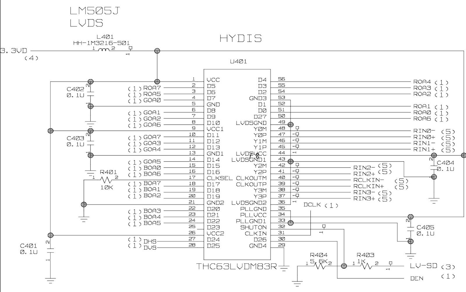 Electro Help  Flatron L1510m Lg Lcd Monitor Circuit