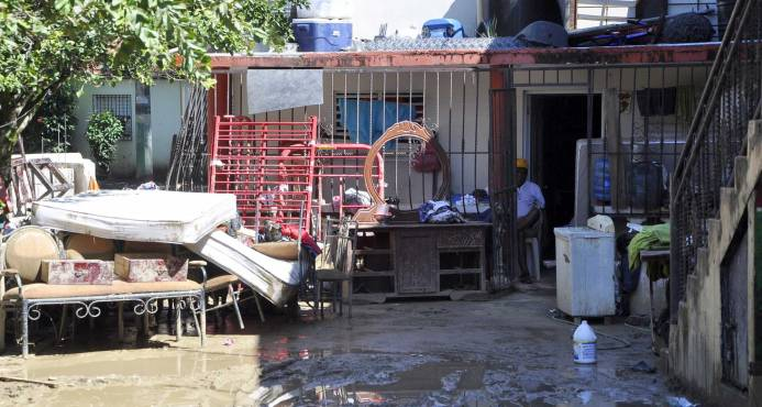 Pérdidas en Moca ascienden a más de RD$2,000 millones por lluvias