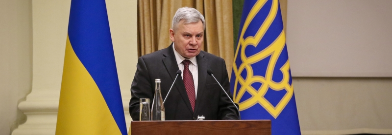 Minister of Defense of Ukraine Andriy Taran