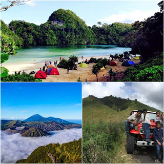 Sempu Island, Mount Bromo tour 3 days 2 nights