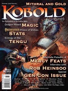Tenkar's Tavern: Free - Kobold Quarterly Issue #14