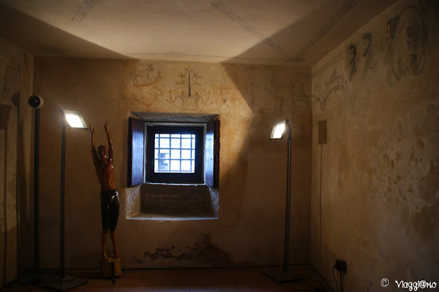 Interno delle Prigioni della Torre Guaita di San Marino